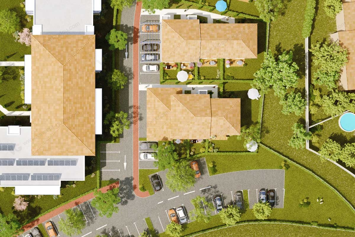 Plan architecture maison de retraite maison moderne for Architecture maison de retraite