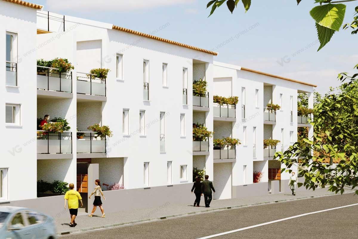 perspectives 3d de programme immobilier photos r alistes vincent grieu infographiste 3d. Black Bedroom Furniture Sets. Home Design Ideas