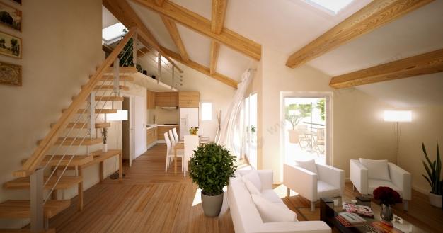 illustrations d 39 un programme immobilier urbain vincent grieu infographiste 3d. Black Bedroom Furniture Sets. Home Design Ideas