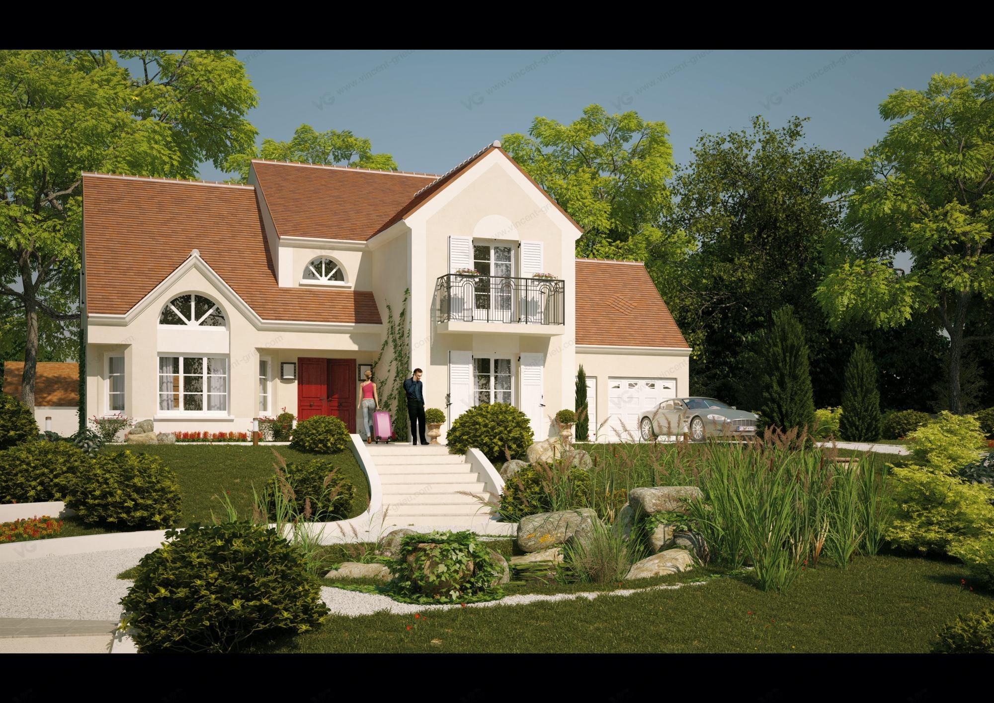 Constructeur maison individuelle de prestige maison moderne for Constructeur maison individuelle architecte
