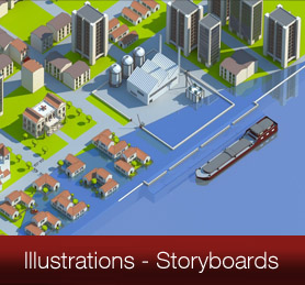 Illustrations en Infographie 3D